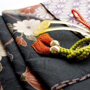 着物の帯と組紐